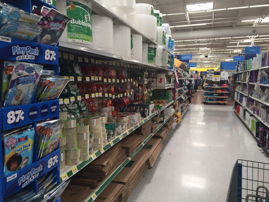 tape at Walmart