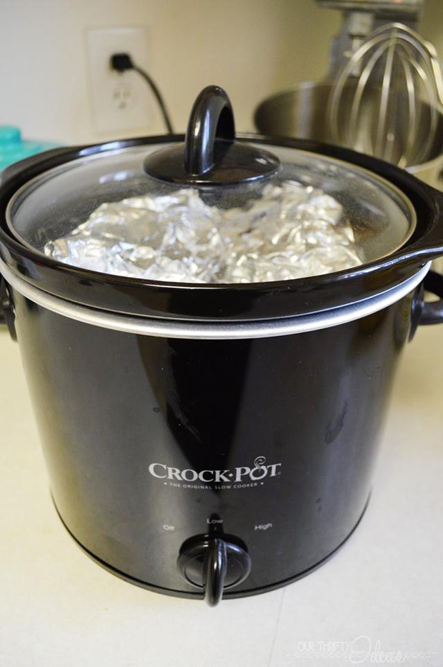 cooking potatos in the crockpot