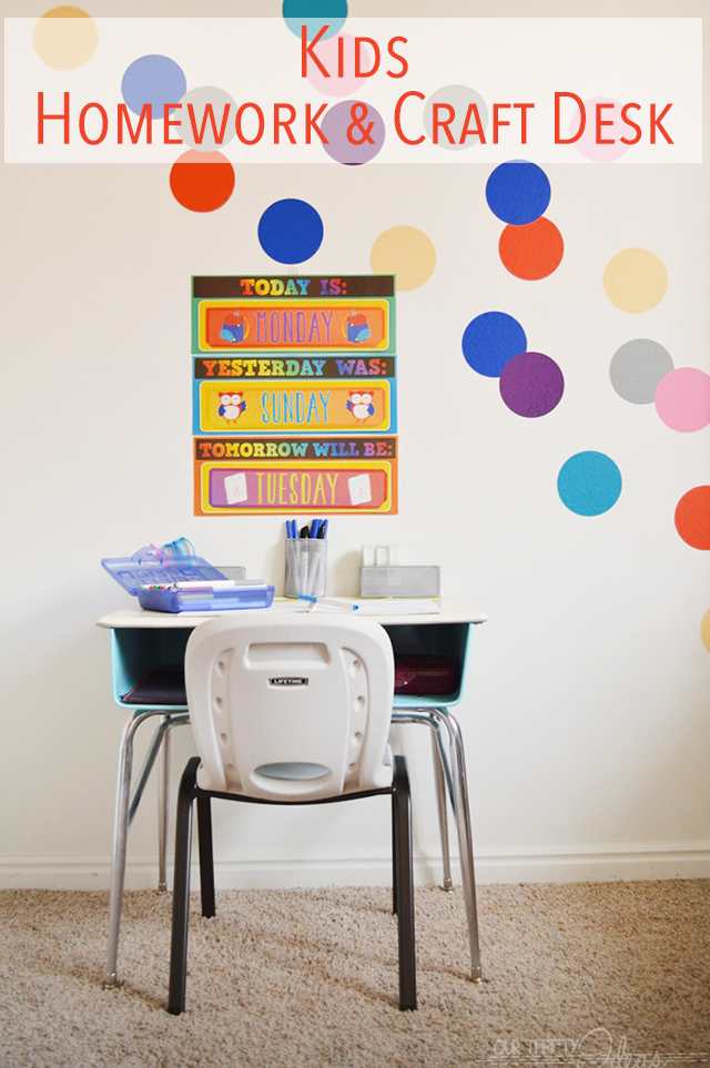 Desk Kids Desk Homework School