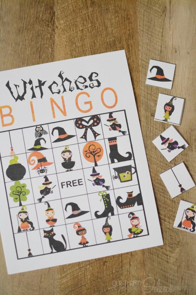 witches bingo