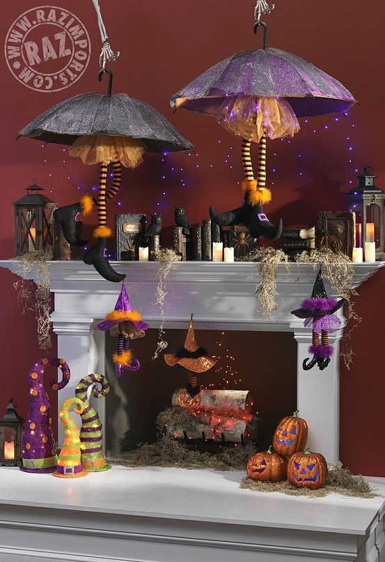The Best Halloween Mantle Decor Ideas Our Thrifty Ideas