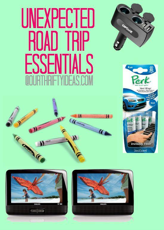 Unexpected Road Trip Essentials