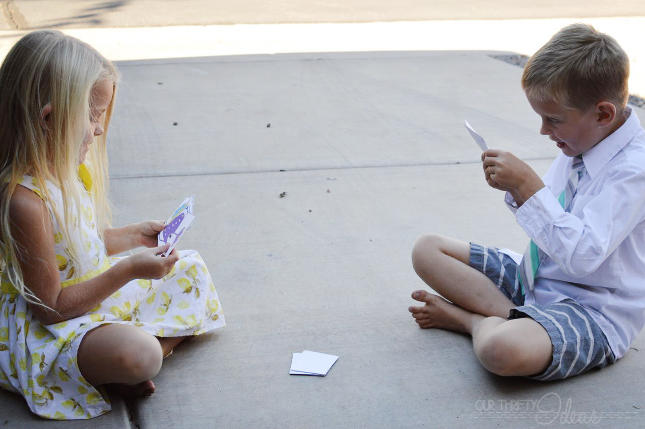 Mend a monster card game free printable our thrifty ideas for Play go fish