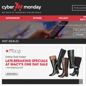 CyberMonday.com Shopping for the Holidays