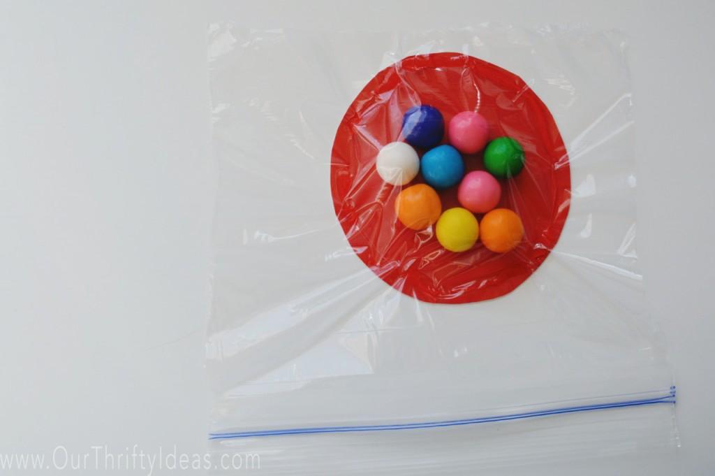 gumball machine printable valentine card