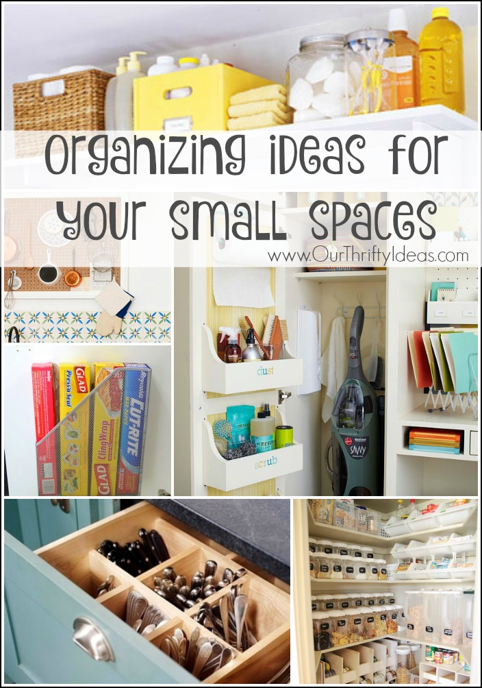 Small space organizing ideas stunning unique clothing for Organizing living room family picture ideas