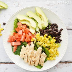[ad] Grilled Chicken Chop Salad Recipe