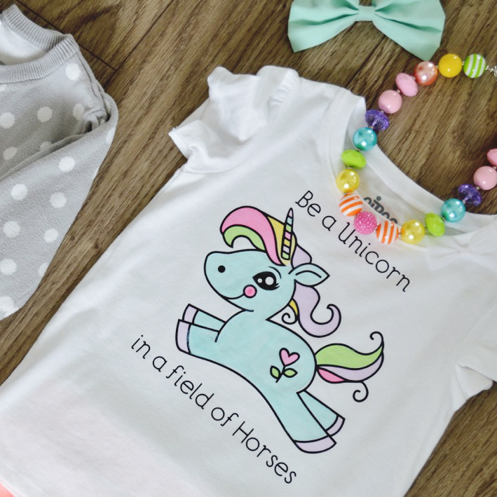 9055667cc DIY Watercolored T-shirt Tutorial - Our Thrifty Ideas