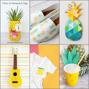 DIY Pineapple Crafts