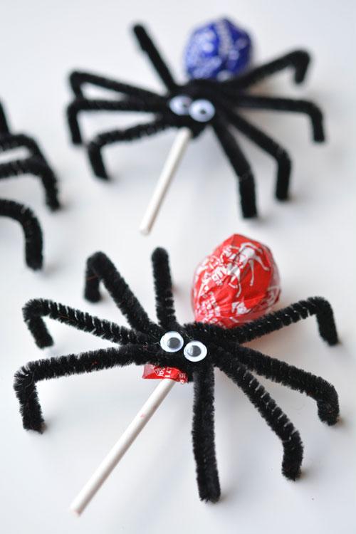Spider Lolipops