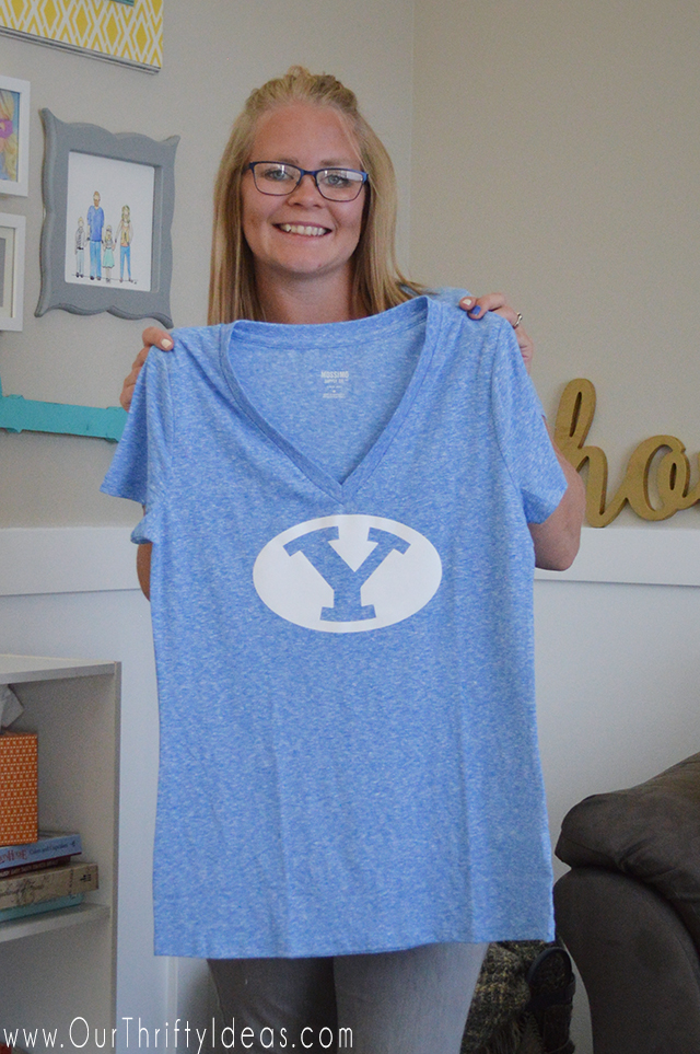 DIY Team shirt for just $2!