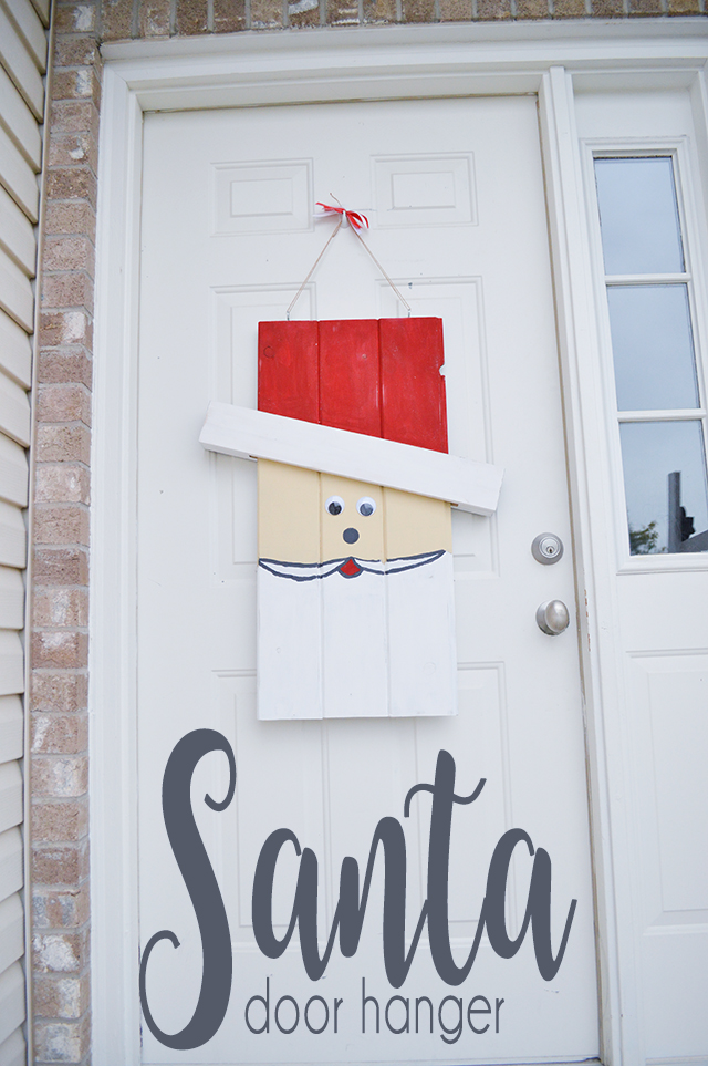 Easy DIY door hanger tutorial with step by step instructions.