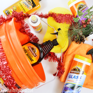 Give the gift of cleanliness this holiday with this Armor All Gift Pack all bundled in a bucket
