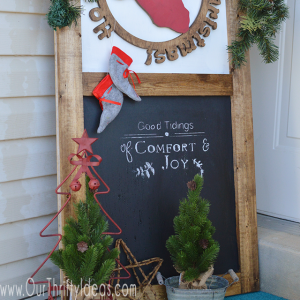 How to Use a Cricut to Make Chalkboard Stencils