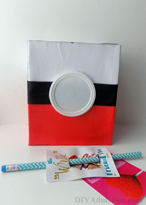 Pokeball Valentine Box