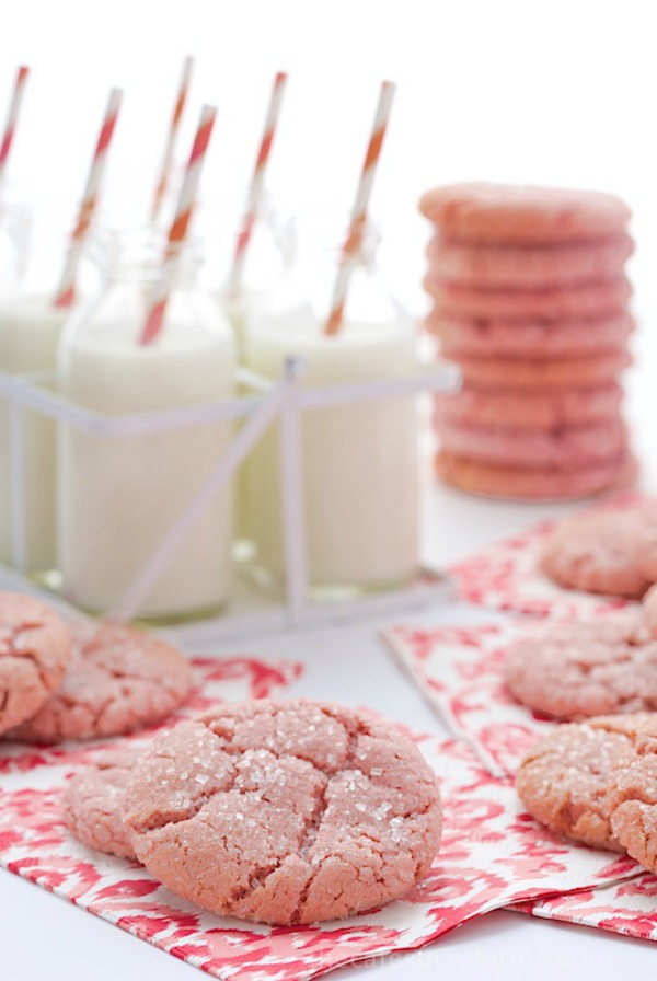 Strawberry Sugar Cookies