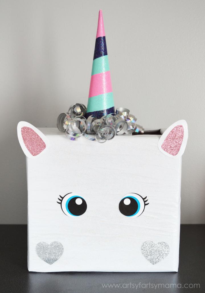 Unicorn Valentine Box