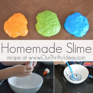 Homemade Slime