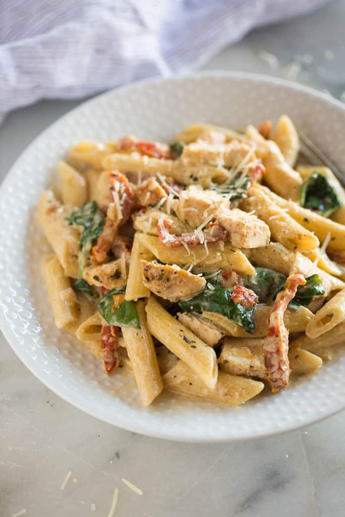 Tuscan Chicken Pasta