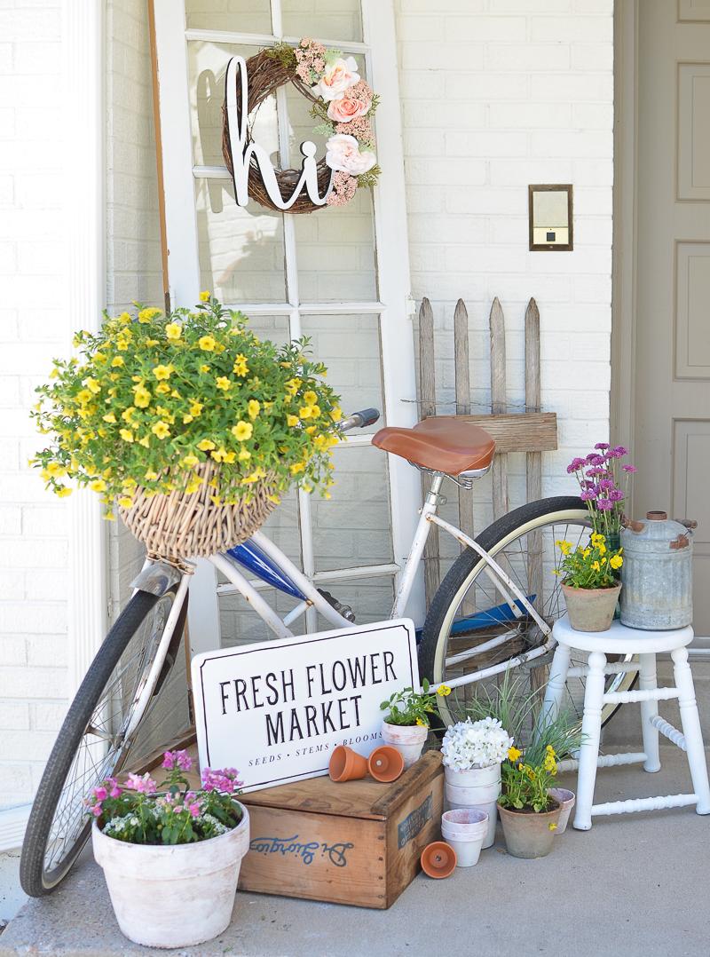 Bike on Porch