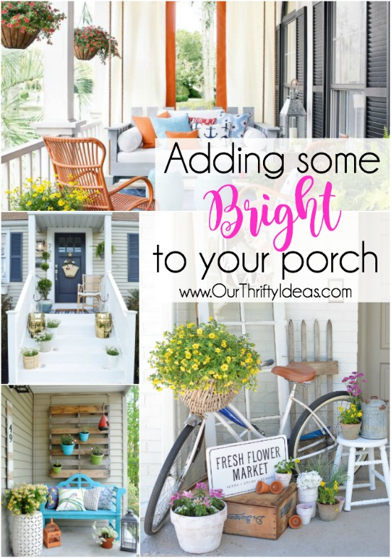 Thrifty Home Ideas Our thrifty ideas crafts recipes kids and life bright porch ideas workwithnaturefo