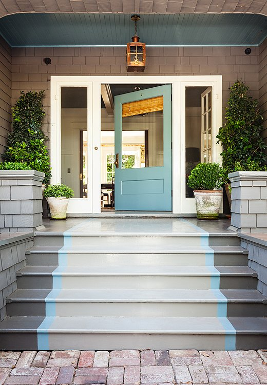 painted porch idea