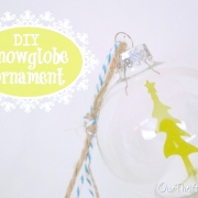 DIY Snow Globe Ornaments