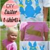 Easter Shirts - DIY tutorial