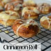 mini Cinnamon Roll Donuts