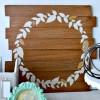 Glittered Faux Wreath - Fall decor