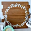 Glittered Faux Wreath - Fall decor