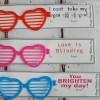 Sunglasses Valentine Printable Card