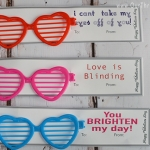Sunglasses Valentine Printable Card