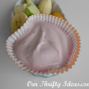 Raspberry Yogurt Fruit Dip