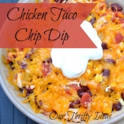 Chicken Taco Chip Dip