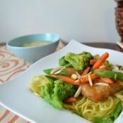 Asian Fish & Vegetable Stir Fry {with Van de Kamp's fish and Birds Eye vegetables}