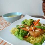 Asian Fish & Vegetable Stir Fry {with Van de Kamp's fish and Birds Eye vegetables}
