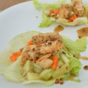 {Recipe} Grilled Chicken Wraps