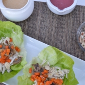 Using Land O Lakes Saute Express® Saute Starter for a dinner party