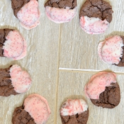 {Recipe} candy cane chocolate cookies