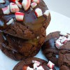 {Virtual Bake Sale} chocolate peppermint cake cookies