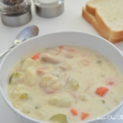 sick neighbor gift - turkey chowder recipe