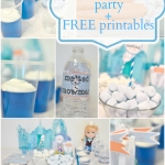 FROZEN movie release with a party & Free printables