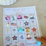 4th of July BINGO and Blog Hop