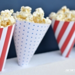 Patriotic Treat Cones - free printable