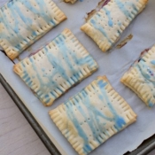 Homemade Blueberry Poptarts