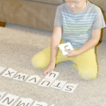 Alphabet matching game - letter recognition