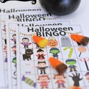 Halloween BINGO - free printable + Halloween Blog Hop