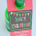 Printable Christmas Soda Tags - Neighbor Gift Blog Hop