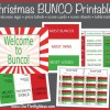 Christmas BUNCO Printable Kit